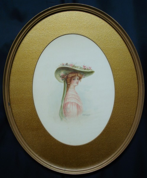 hat-framed