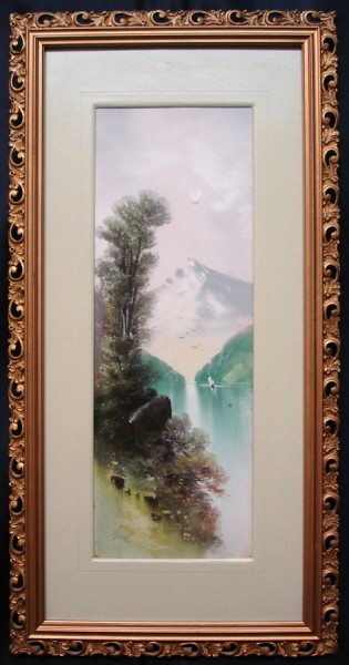 lake-framed