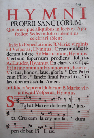 Psalter, Music (1727)