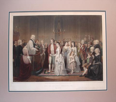 Regnier, Claude after Junius Brutus (1810-1885) Life of George Washington