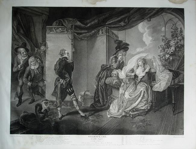 twelfth night: Act 1 Scene 3