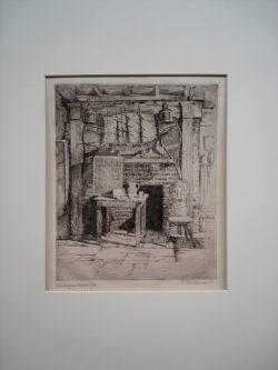 Unknown (Etching from the Philadelphia Sketch Club)