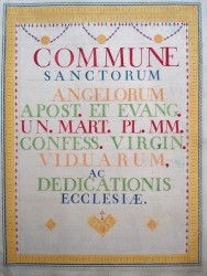 Psalter, Handwritten (18th C.)