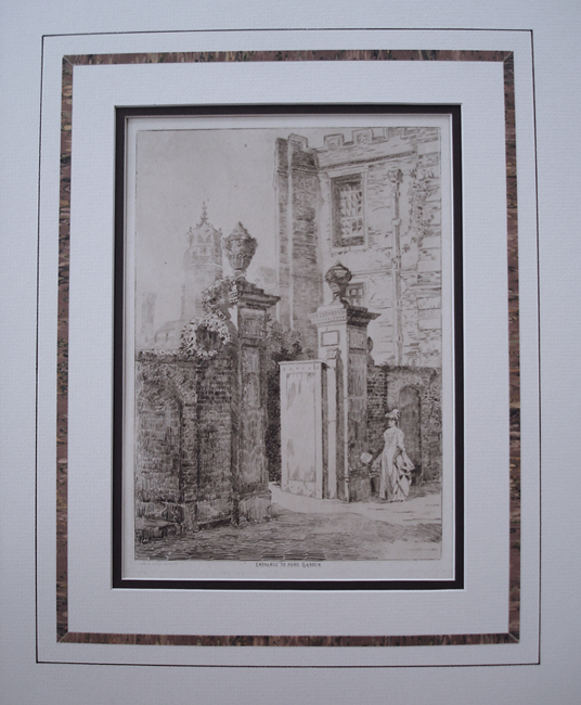 Catty and Dobson, Published by A. Robinson, Set of Ten Etchings (Hampton Court Palace) (Dates unknown)