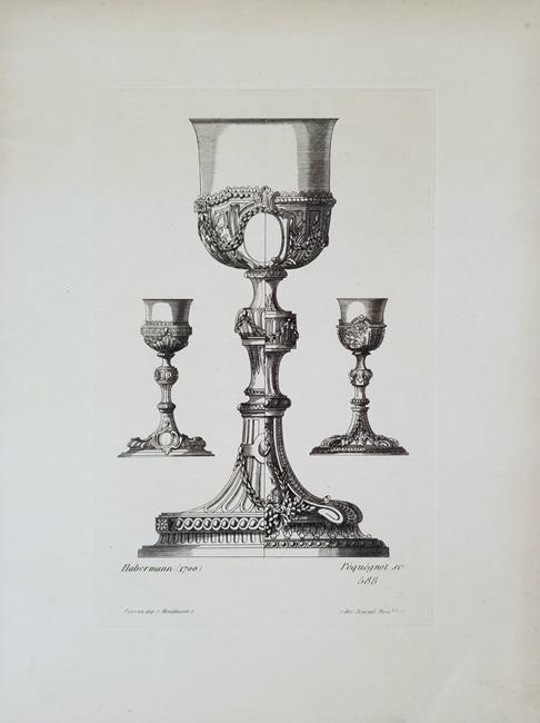 Pequegnot, Auguste (1819 - 1878) Ornements Vases et Decorations, quarto