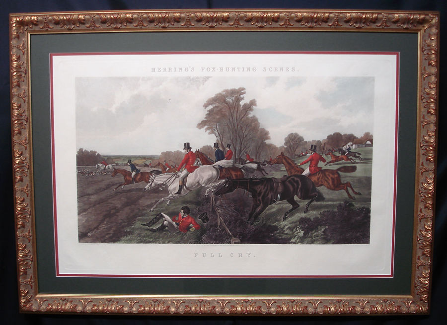 Herring Sr J F Quot Full Cry Quot Herring S Fox Hunting Scenes