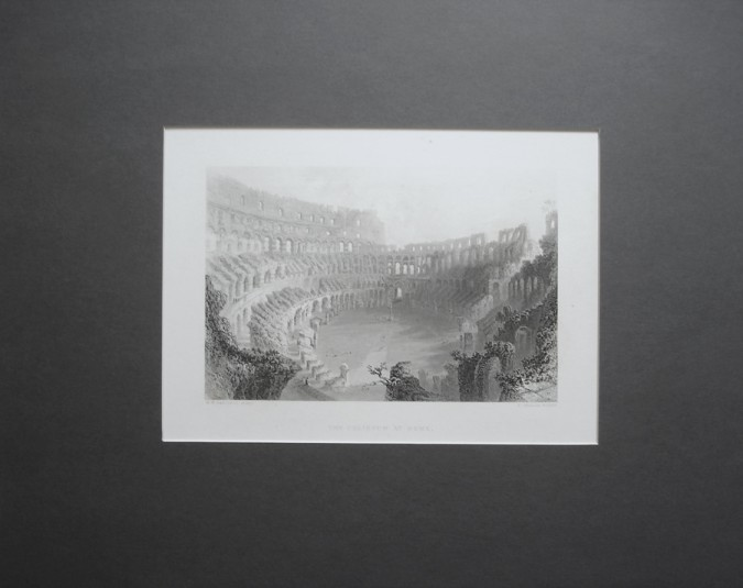 Antique Architectural Engraving