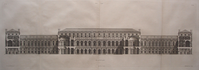 A Section of Whitehall Palace