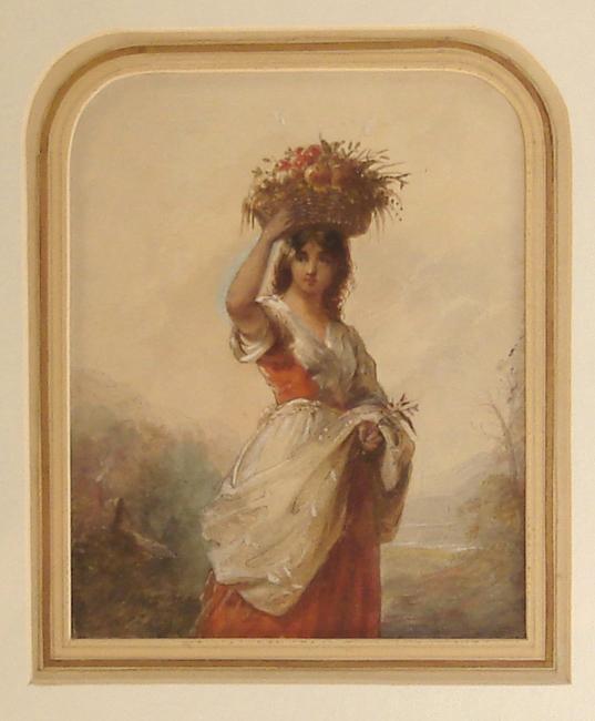 "Miller, Alfred Jacob (1810-1874)  ""Flora"""