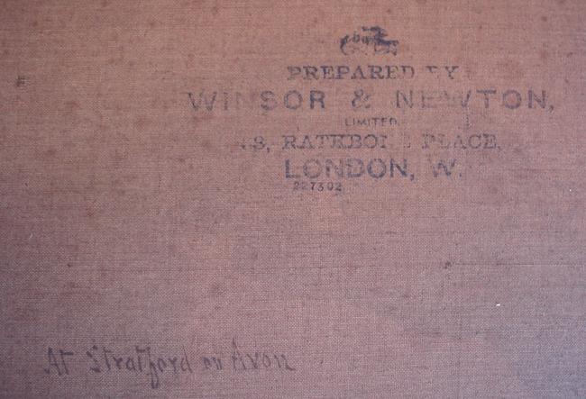 "Bates, David (1840-1921)  ""Stratford on Avon"""