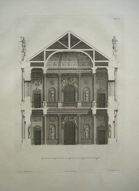 A Section of the Chapel at Whitehall Palace