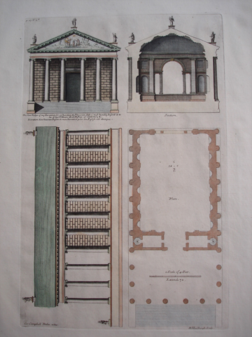 Church design for Arch Bishop of Canterbury