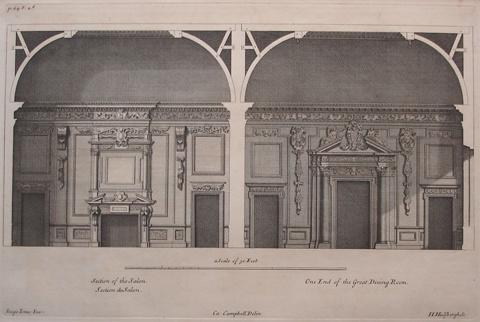Section of the Salon