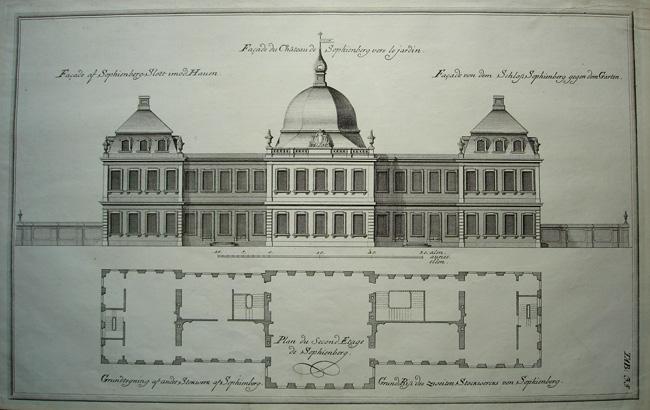 Facade Du Chateau De Sophienberg