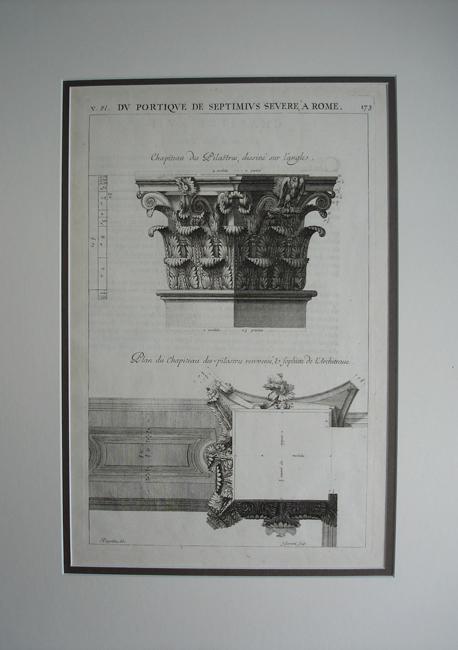 Du Portique De Septimius Severe A Rome