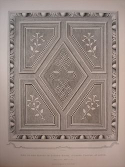 One of the Panels in Dining Room, Gilling Castle at Large