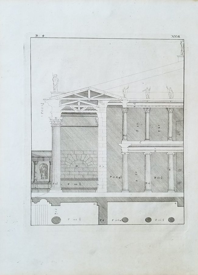 Antique Architectural Engraving