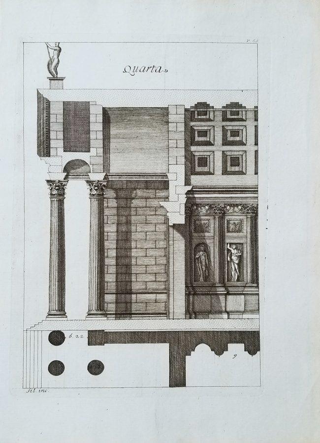 Architecture Antique Engraving