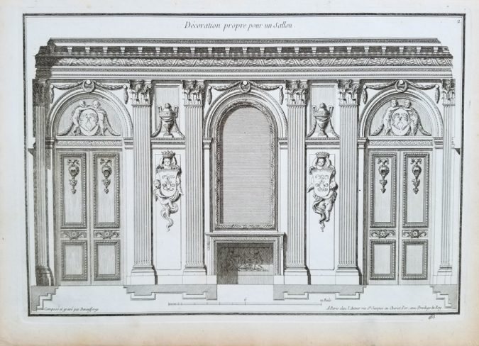 Fine Antique Architectural Engraving