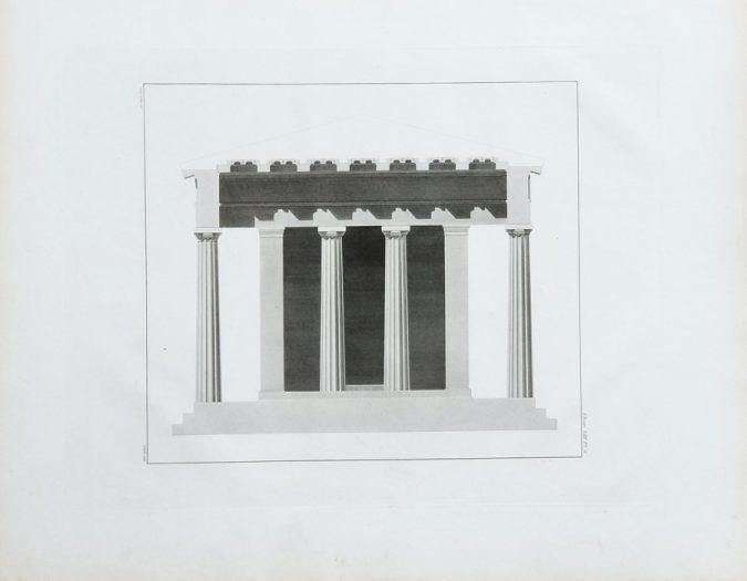 Architecture Antique Print
