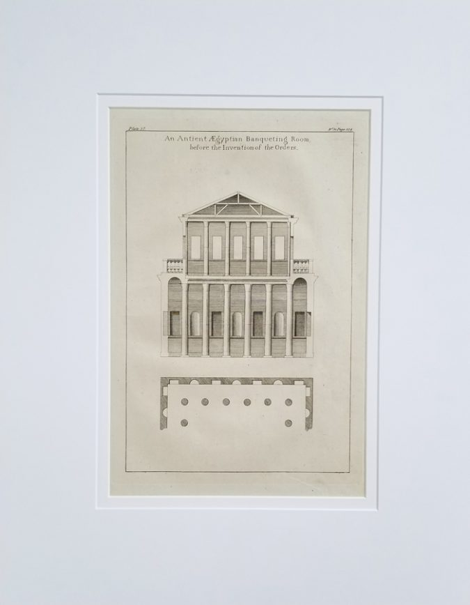 Architecture Antique Engraving