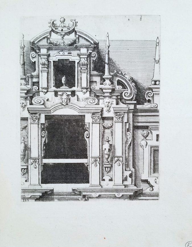 Fine Antique Architectural Etching