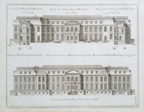 18cFine Antique Architectural Engraving