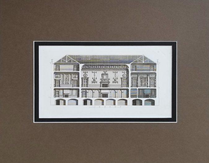 Fine Antique Architectural Engraving