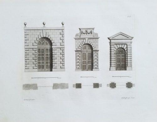 Fine Antique Architectural Print