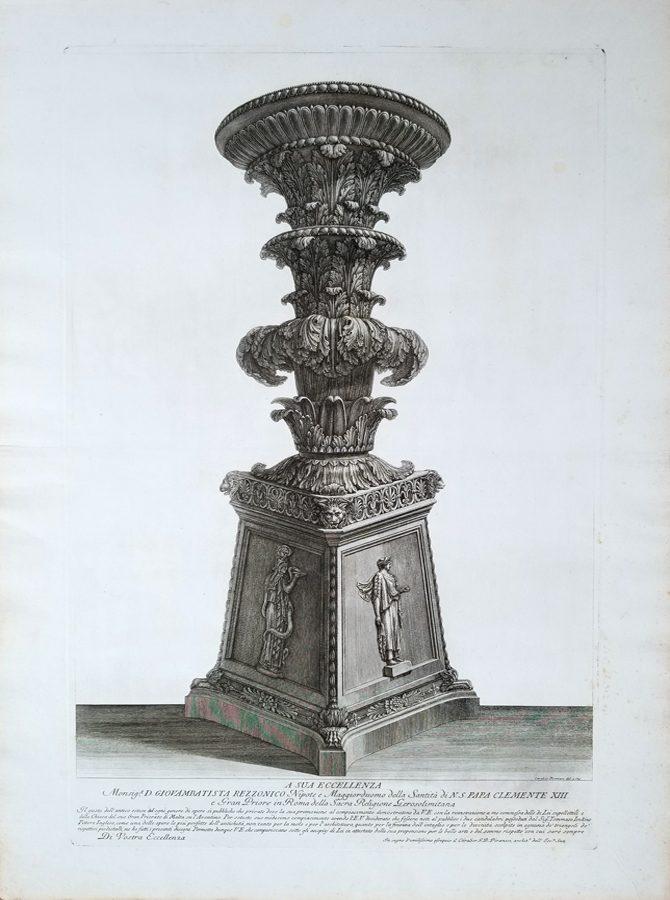 A Sua Eccellenza  (Designed for Pope Clemente XIII)