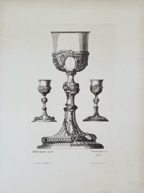 Pequegnot, Auguste (1819 - 1878) Ornements Vases et Decorations, quarto