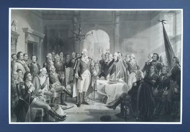 Ritchie, Alexander Hay (1822-1895), Washington and His Generals